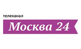 Логотип телеканал Москва 24