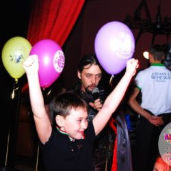 рок вечеринка на праздник ребёнку