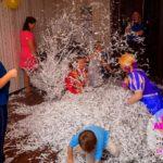 бумажное шоу на день рождения ребенку