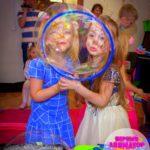 шоу мыльных пузырей в детский сад