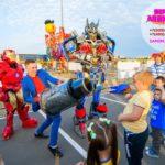 шоу роботов трансформеров на детский праздник