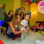 химическое шоу на день рождения ребенка