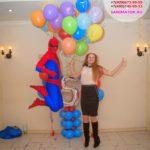 аниматор человек паук на день рождения ребенка