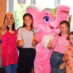 аниматор слоник на детский праздник