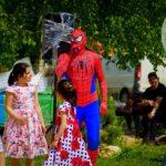 аниматор человек - паук на праздник в Москве