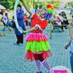 аниматор клоун на детский день рождения Москва