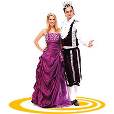 Аниматоры Принц и принцесса онлайн