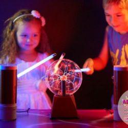 Тесла - шоу для детей