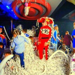бумажное шоу на детский праздник