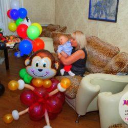фигурки из воздушных шаров на праздник