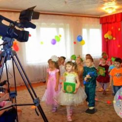 видеосъёмка на детский праздник