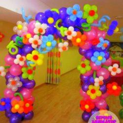 воздушные шары - арка