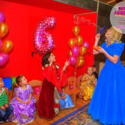 воздушные шары и аниматор на день рождение