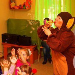 аниматор Чебурашка на  детский праздник