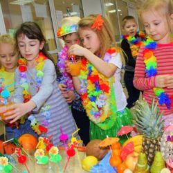 гавайская вечеринка на праздник
