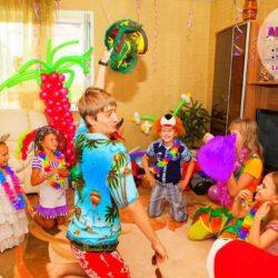 аниматор гавайская вечеринка на день рождения