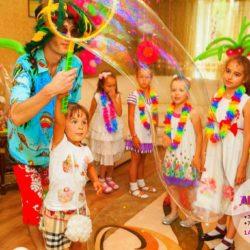 аниматор гавайская вечеринка на день рождения ребенка