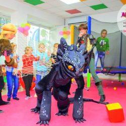 аниматор как приручить дракона на день рождения