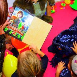 аниматор как приручить дракона на детский праздник