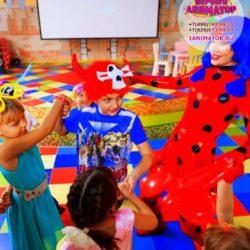 аниматоры леди Баг и Суперкот на детский праздник