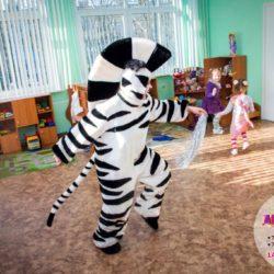 аниматор Мадагаскар на праздник