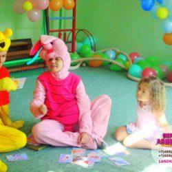аниматор Пятачок на детский день рождения