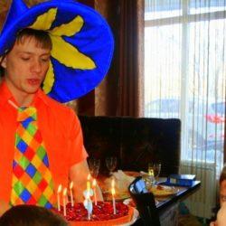 аниматор Незнайка на детский день рождения