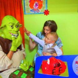 шрек на детский праздник