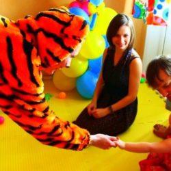 аниматор тигра на выпускной