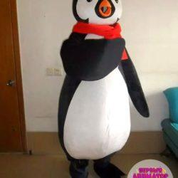 аниматор - пингвин на день рождения