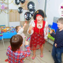 аниматор пираты на детский день рождения