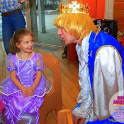 аниматор - принц на день рождения ребёнка