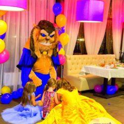 аниматор принцесса Бэлль на детский день рождения