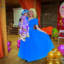 аниматор - принцесса на день рождения