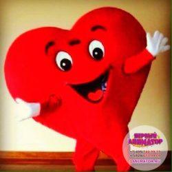 аниматор сердце на детский праздник