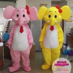 аниматор - слон на праздник детям
