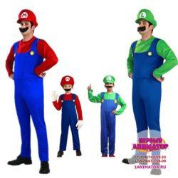 аниматор Супер Марио на день рождения