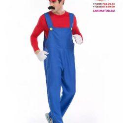 аниматор Супер Марио на детский праздник