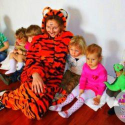аниматор тигр на детский праздник