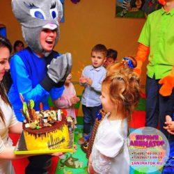 аниматор Зверополис на день рождения