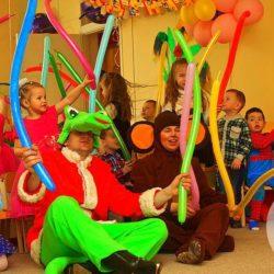 детский праздник с Чебурашкой