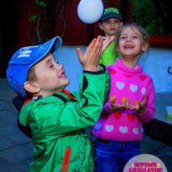 химическое шоу на день рождения в Московской области