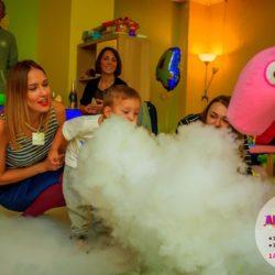 химическое шоу на день рождения в подмосковье