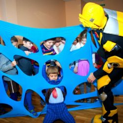 праздник детям странсформерами