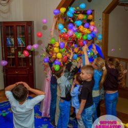 шар - сюрприз на детский праздник