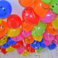шары - смайлики на детский праздник