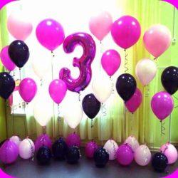 шары воздушные на день рождения ребёнка