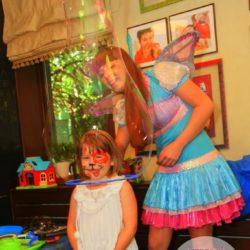 шоу мыльных пузырей детям Москвы