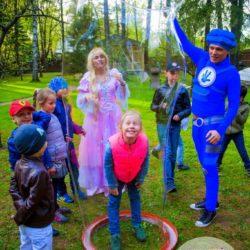 шоу мыльных пузырей и аниматор на детский праздник