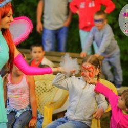 шоу мыльных пузырей и аниматор на праздник